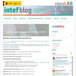 Materiales y datos de los MOOC sobre ABP y PLE