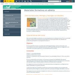 Ciencias Naturales, Biología y Geología con Biosfera - Materiales formativos en abierto