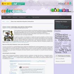Cómo crear materiales educativos interactivos