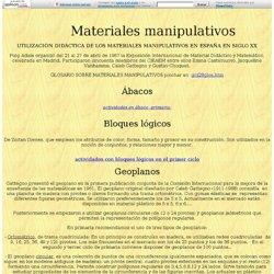 Historia de los materiales manipulativos