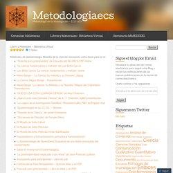 Libros y Materiales – Biblioteca Virtual « Metodologiaecs