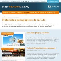 Materiales pedagógicos de la U.E.