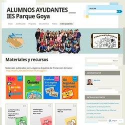 ALUMNOS AYUDANTES ___ IES Parque Goya