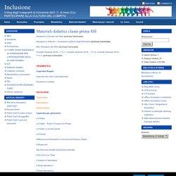 Materiali didattici classe prima SSI : Inclusione