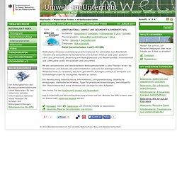 Umwelt im Unterricht: Materialien und Service für Lehrkräfte – BMU-Bildungsservice