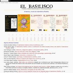 El Basilisco, revista de materialismo filosófico