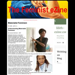 Materialist Feminism - The Feminist eZine