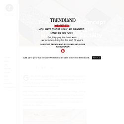 The Gina Tricot Concept Store Showcase Materiality & Tactility – Trendland Online Magazine Curating the Web since 2006