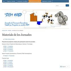 Materials de les Jornades « Treball per projectes en l'Àmbit STEM