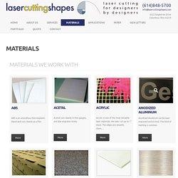 Láser para cortar material acrílico, papel, cartón, textil, cuero, madera - materiales
