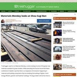 Materials Monday looks at Shou Sugi Ban