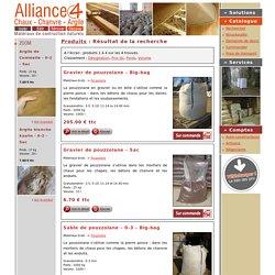 Alliance 4 : Matériaux de construction naturels