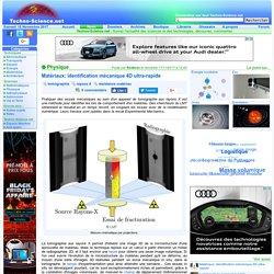 Matériaux: identification mécanique 4D ultra-rapide