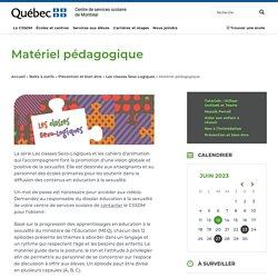 Matériel pédagogique - Centre de services scolaire de Montréal