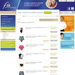 Femme FSK- matériel médical lié aux stomies et problème d'incontinence Femme