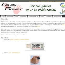 Matériel – Rehab-Games