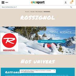 Le matériel de ski et le textile Rossignol en vente sur Ekosport