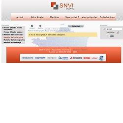 Matériel de Sérigraphie - SNVI Graphic
