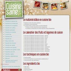 recette cuisine (bio)