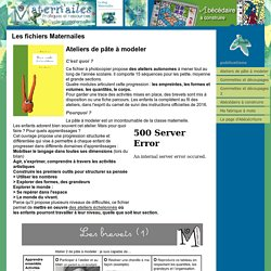 Éditions Maternailes : des fichiers pour l'école maternelle, petite, moyenne et grande sections