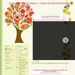 Ecole Maternelle Capsus - Classe de Murielle Ducroo