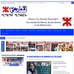 La langue maternelle des immigrés n'est pas l'arabe – Le Monde Amazigh