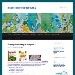 Inspection de Strasbourg 3