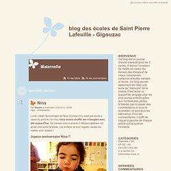 Maternelle - blog des écoles de Saint Pierre Lafeuille - Gigouzac - page 5