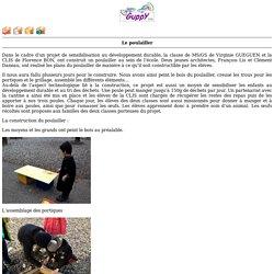 le site de l'école maternelle Pringolliet d'Ugine - Le poulailler