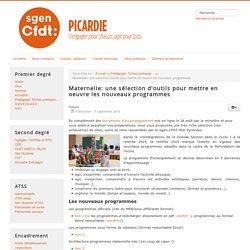 Maternelle: une sélection d'outils pour mettre en oeuvre les nouveaux programmes