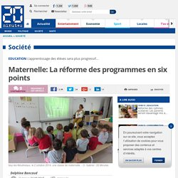 Maternelle: La réforme des programmes en six points