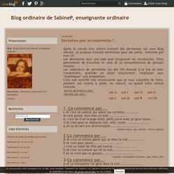 Devinettes pour les maternelles 1 - Blog ordinaire de SabineP, enseignante ordinaire