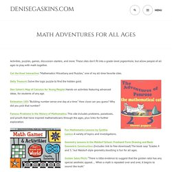 Math Adventures for All Ages