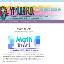 Math in Art – 15+ STEAM Projects!