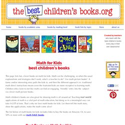 Teaching Elementary Math Lessons w/ Picture Books