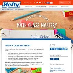 Math Class Mastery
