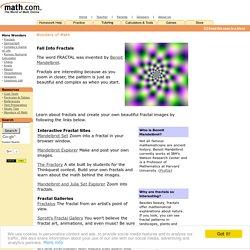 Math.com Wonders of Math