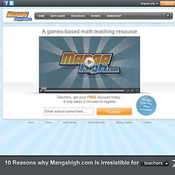 Math Games - from Mangahigh.com