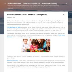 Fun Math Games for Kids – A New Era of Learning Maths