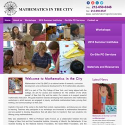 Math In The City