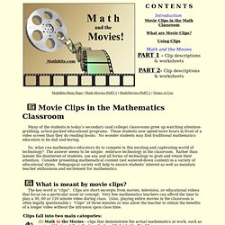 Math and the Movies Main Page