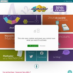 Mathador : jeu de calcul mental, application, concours, jeu en ligne ou jeux de société