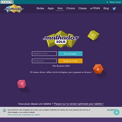 Mathador Solo : Jeu en ligne pour progresser en maths