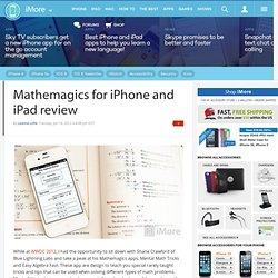 Mathemagics for iPhone and iPad review