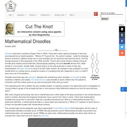 Mathematical Droodles
