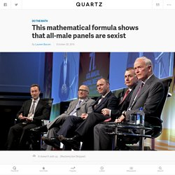 The Odds That a Panel Would 'Randomly' Be All Men Are Astronomical