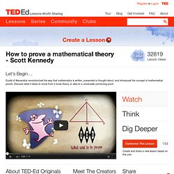 Scott Kennedy: How to prove a mathematical theory