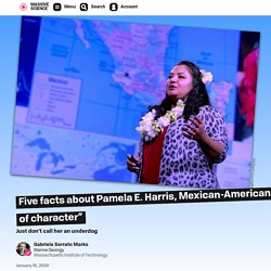 """Five facts about Pamela E. Harris, Mexican-American mathematician and educator of """"leaders of character"""""""