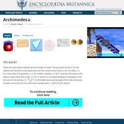 biography - Greek mathematician