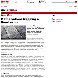 Mathematics: Mapping a fixed point